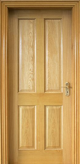 4 Panel White Oak Door (40mm)